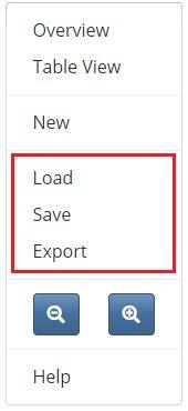 save-menu-options